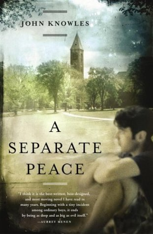 a review of separate peace by john knowel A separate peace might be the first book that made me recognize the deep potential of books i still remember where i was when i read it — the lighting, the temperature, the silence since then, when asked what some of my favorite books are, in my very long reply i often say a separate peace but recently.