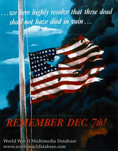 REMEMBER DEC. 7th!